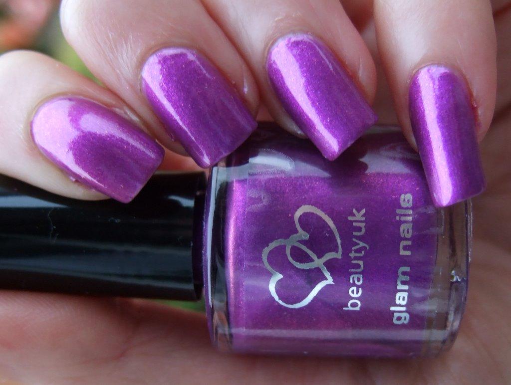 electric purple nail polish - photo #18