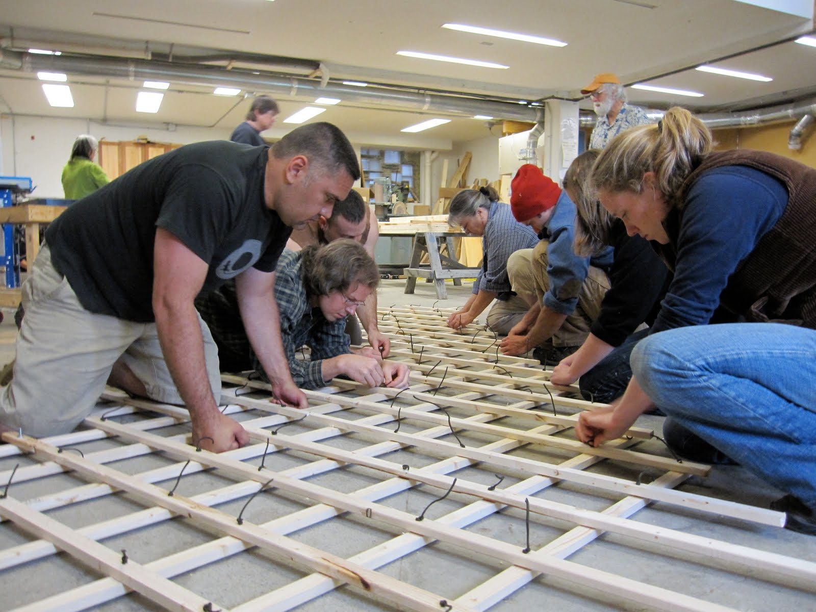 Yestermorrow Design Build School Class - This weekend i had the pleasure of co leading a yurt building class with bruce sargent at yestermorrow design build school our mission was to build a