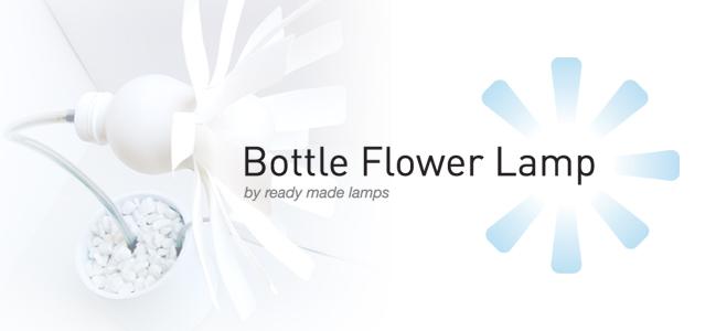 Bottle Flower Lamp