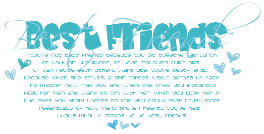 Myspace Poems Best Friends Graphics