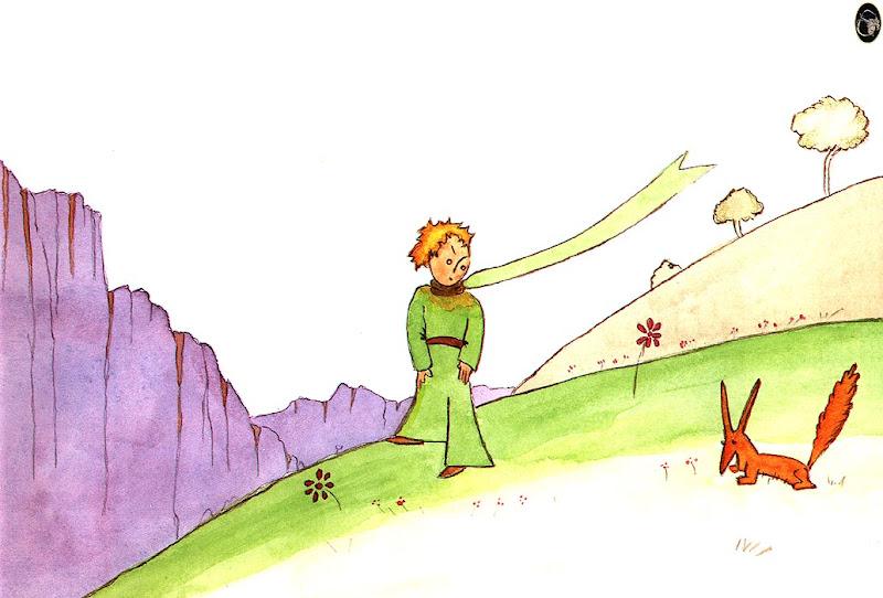 el zorro y el pequeño principe Principito-zorro