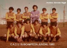 C.A.D.U. 1980 PRIMERA JUV.