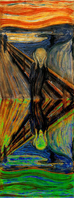 the scream munch essay The scream is a title given to a painting done by one edvard munch, a creative artist and sociologist who was born in 1863 his was a fear, sorrow and death-filled life, as is still recorded in his journal, years after his death.