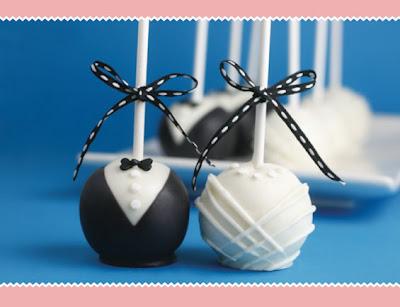 Make Wedding Cake Pops
