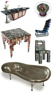 Furniture with Recycled Materials