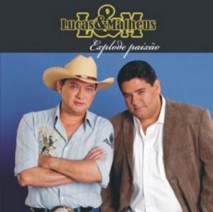 Baixar CD Capa Lucas e Matheus   Explode Paixão (2008)