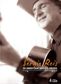 Baixar CD Capa Sergio Reis   50 Anos Cantando O Brasil (2009) 4 CDS