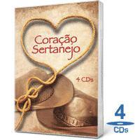 Baixar CD Capa Coletânea   Coração Sertanejo 4 CDS