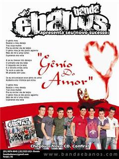 Baixar CD  Banda Ébanos   Genio do amor (2010) MÚSICA NOVA