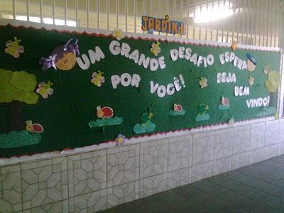 Frases De Boas Vindas Volta às Aulas E Outros Murais A Arte
