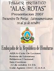 ENCUENTRO DE POETAS LATINOAMERICANOS .TA.A.R. 2007