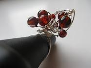Anelli wire con base handmade