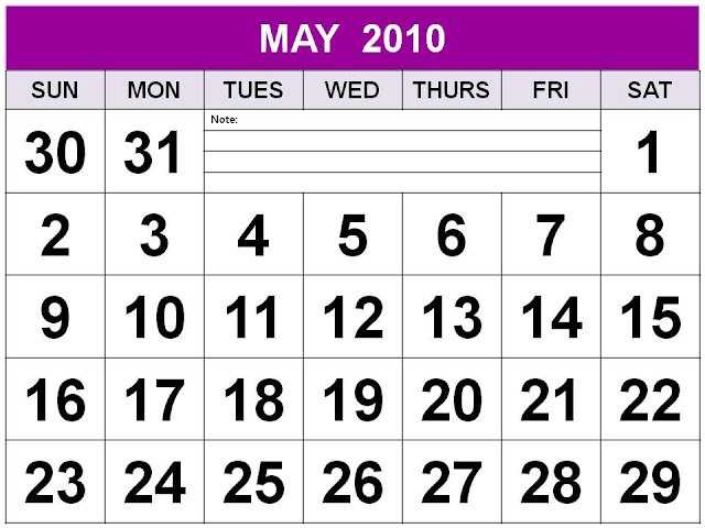 may calendar 2012. Printable May 2012 Calendar