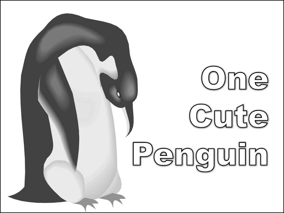Coloring Pages Of Penguins