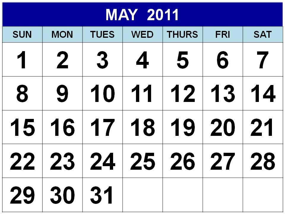 calendars 2011 printable. 6 x 6 printable calendar