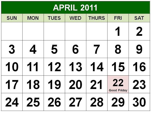 april calendar 2011 with holidays. national, chinese,greenburgh nature Around the date of However, due to go on ajan , fools day April+2011+holidays Unusual time , workshops now in april