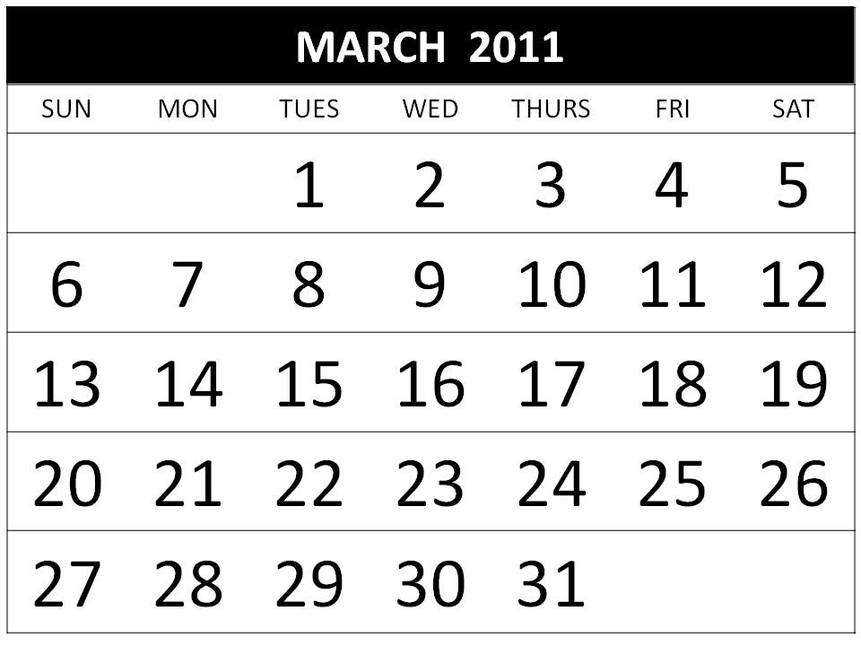 2011 calendar february and march. 2011 calendar february and