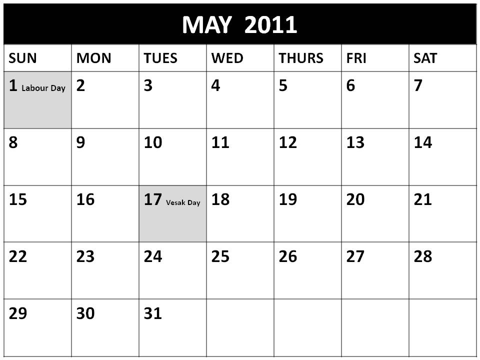 jpeg 49kB, Doocab.com2011 Calendar May With Holidays Page 2 - doocab ...