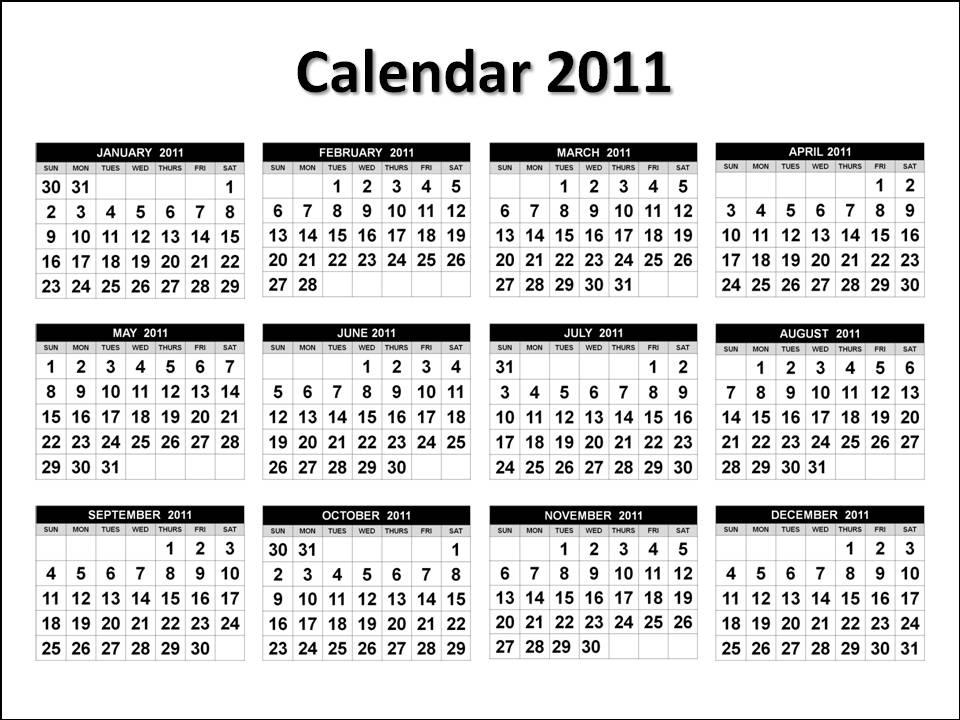 june 2011 calendar page. 2011 Calendar 1 Page.