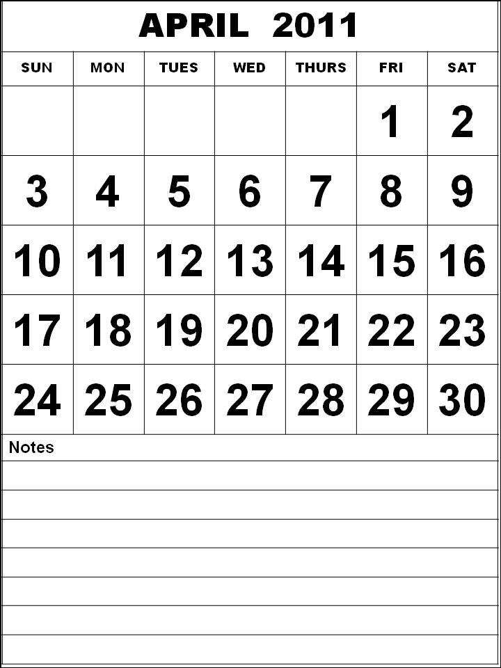 april 2011 printable calendar. APRIL 2011 PRINTABLE CALENDAR