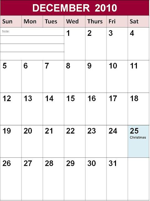 january 2010 printable calendar. and print it. . Printable