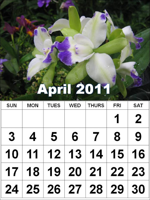 2011 calendar april easter. ieber 2011 calendar april