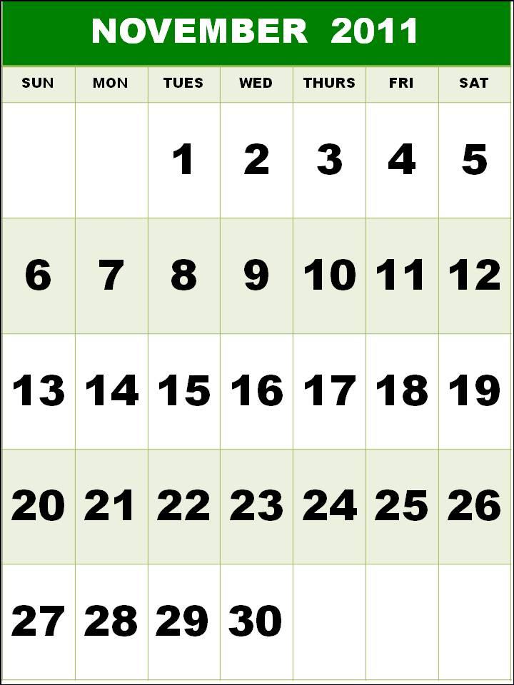 november calendar 2011. Calendar+for+november+2011
