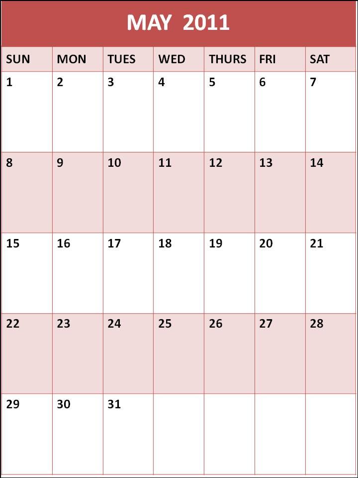 blank 2011 calendar may. lank 2011 calendar may. lank