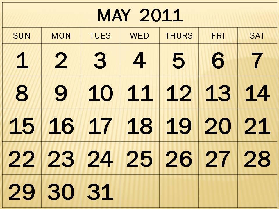 may 2011 calendar page. Calendar 2011 May - Page 2