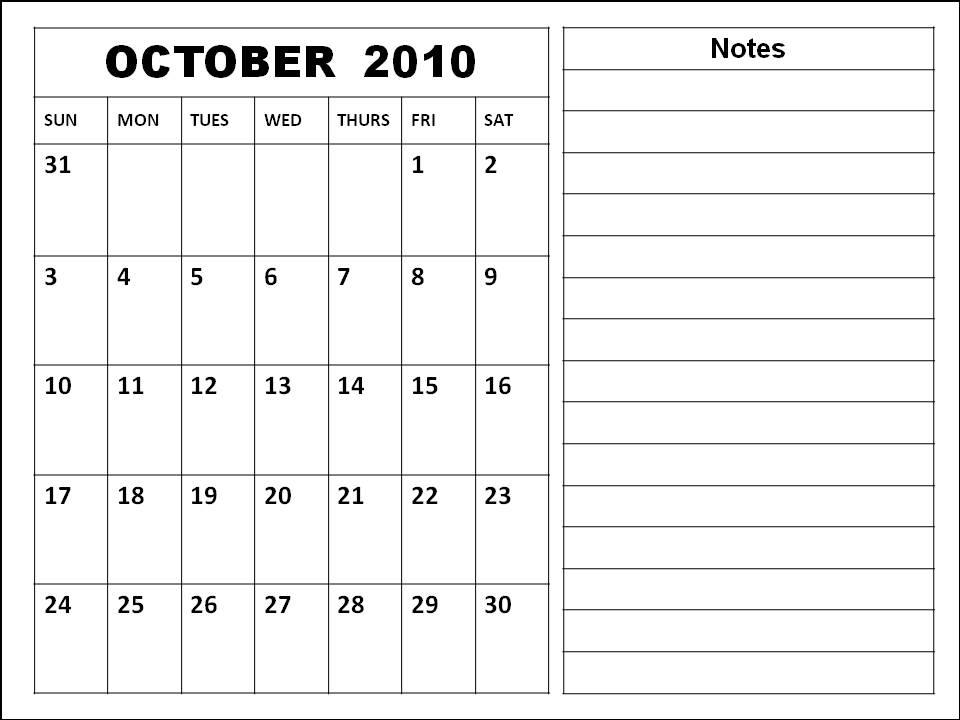 2010 october calendar. october calendar wallpaper