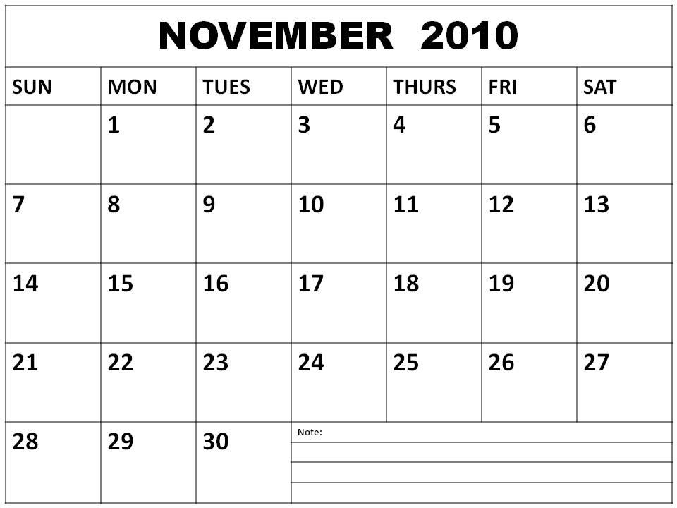 Njyloolus  Free Calendars To Print 2011