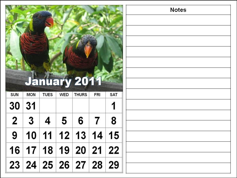 2011 calendar printable january. 2011 Calendar Printable Uk.
