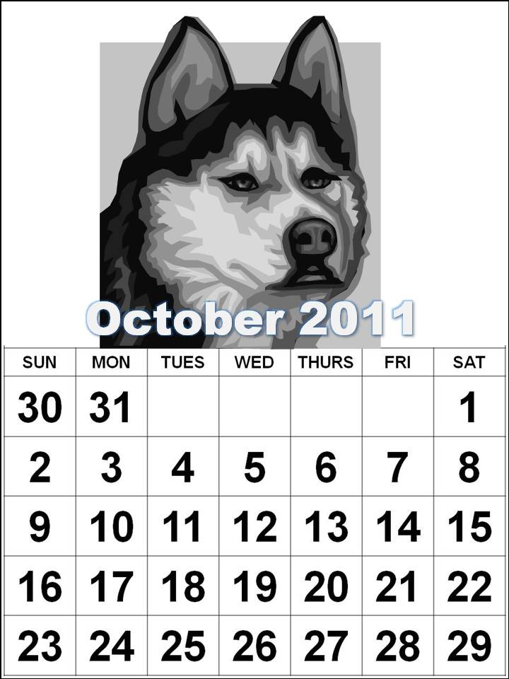 Free Coloring Pages Puppy. Calendar Coloring Pages