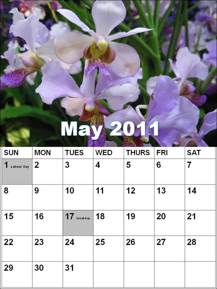 may calendar 2011 singapore. may calendar 2011 canada. may