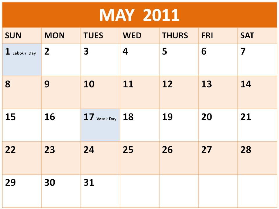events calendar 2011. Art,events calendar may those