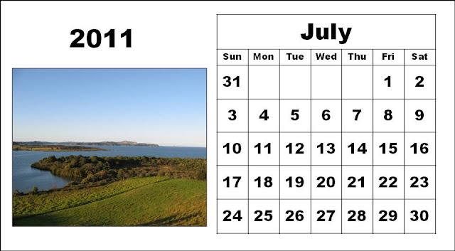 2011 Calendar Printable Free. Free Printable July 2011