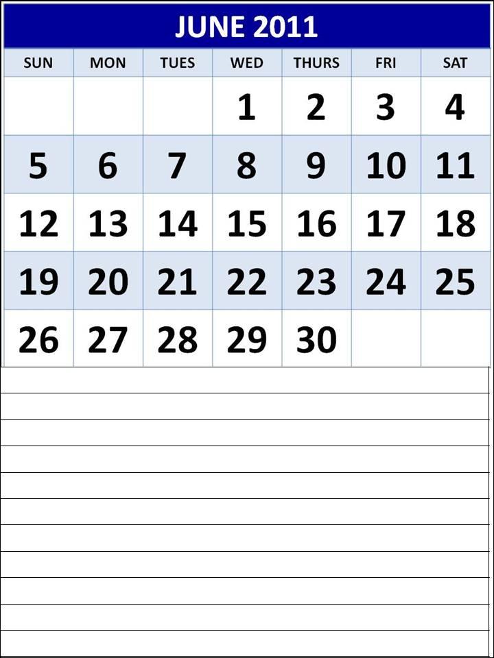 printable june 2011 calendar. June 2011 Calendar