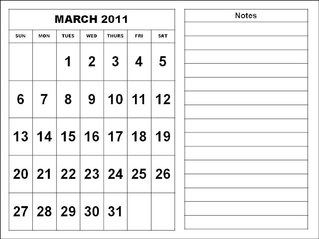 calendar template march. calendar template march