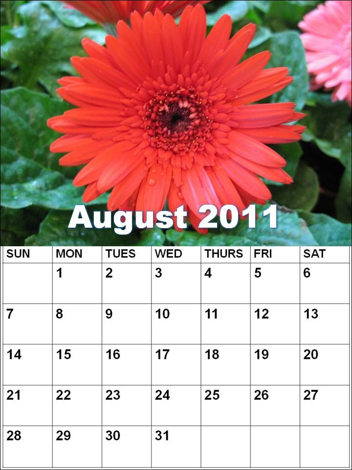 blank august calendar 2011. august calendars 2011. Blank