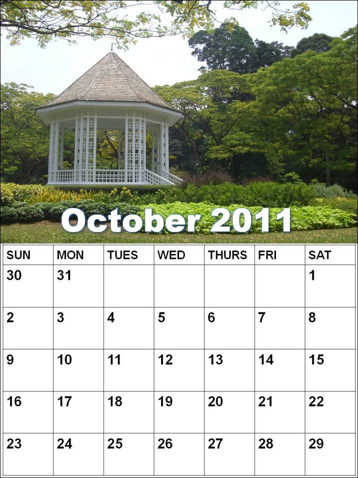 october calendar 2009. october calendar blank