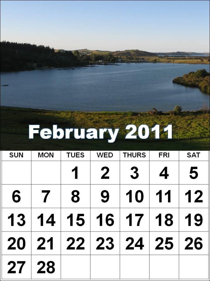 printable february calendar 2011. Printable Calendar 2011 March