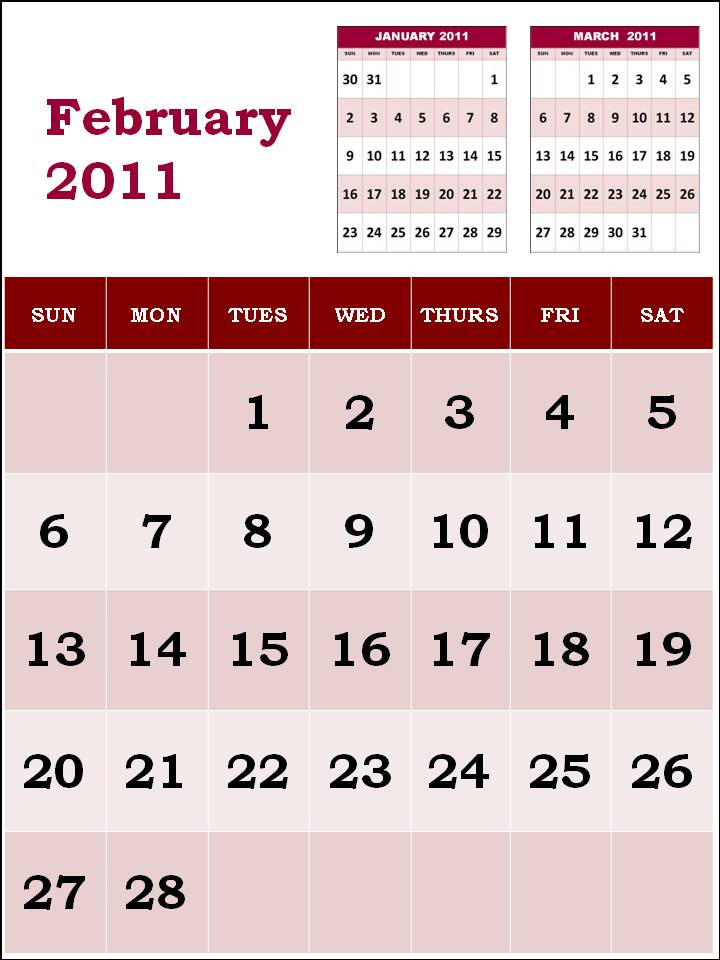 2011 calendar printable uk. february 2011 calendar print