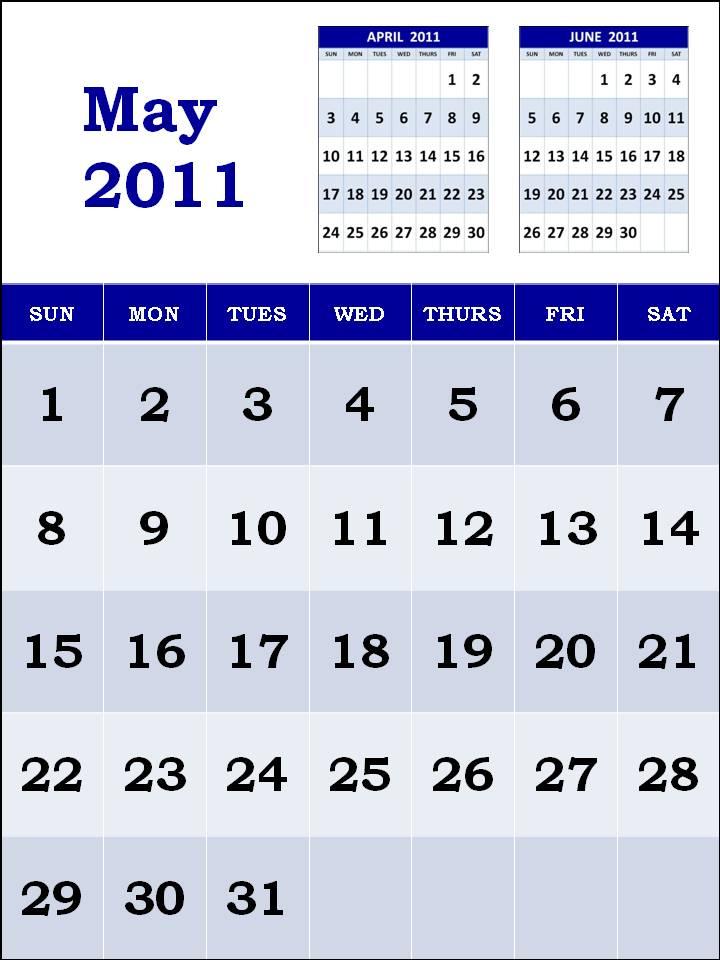 calendar 2011 may printable. may calendar 2011 printable.