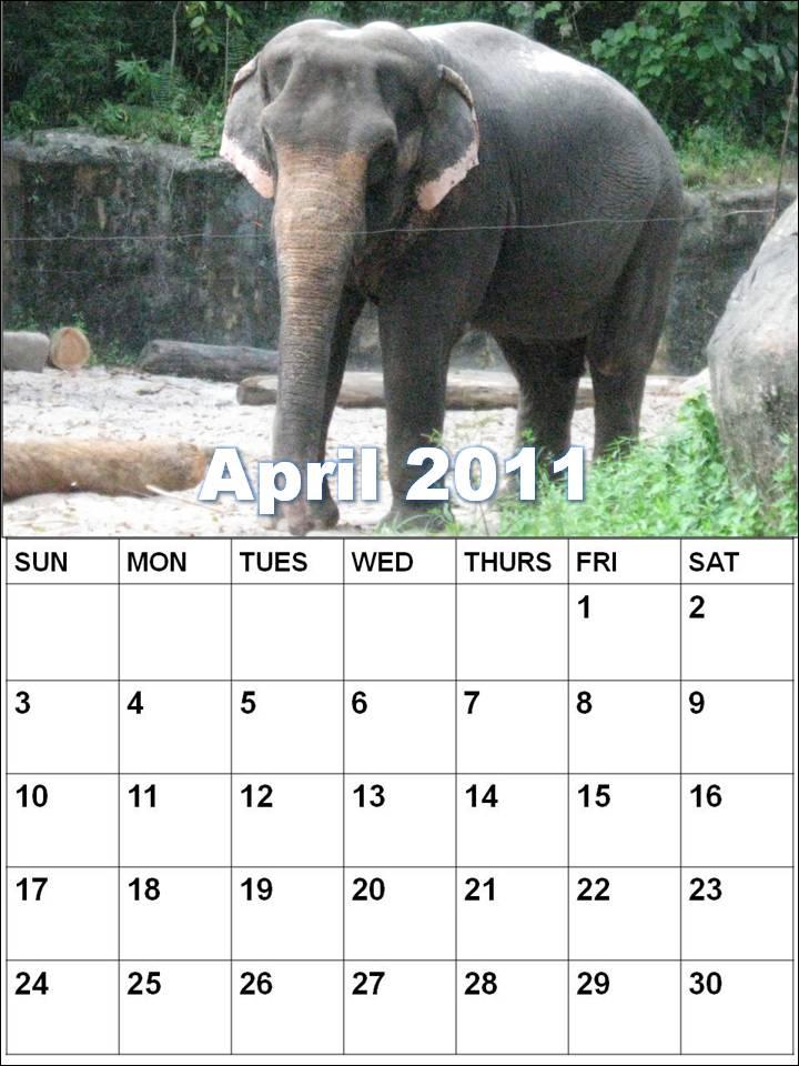 april 2011 calendar printable with holidays. april 2011 calendar printable