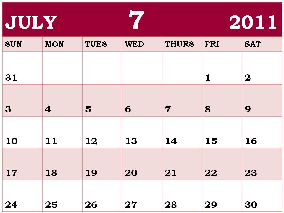 blank july calendar 2011. Blank+calendar+2011+july