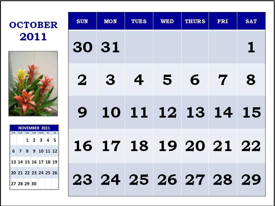 october calendar 2011. October+2011+calendar