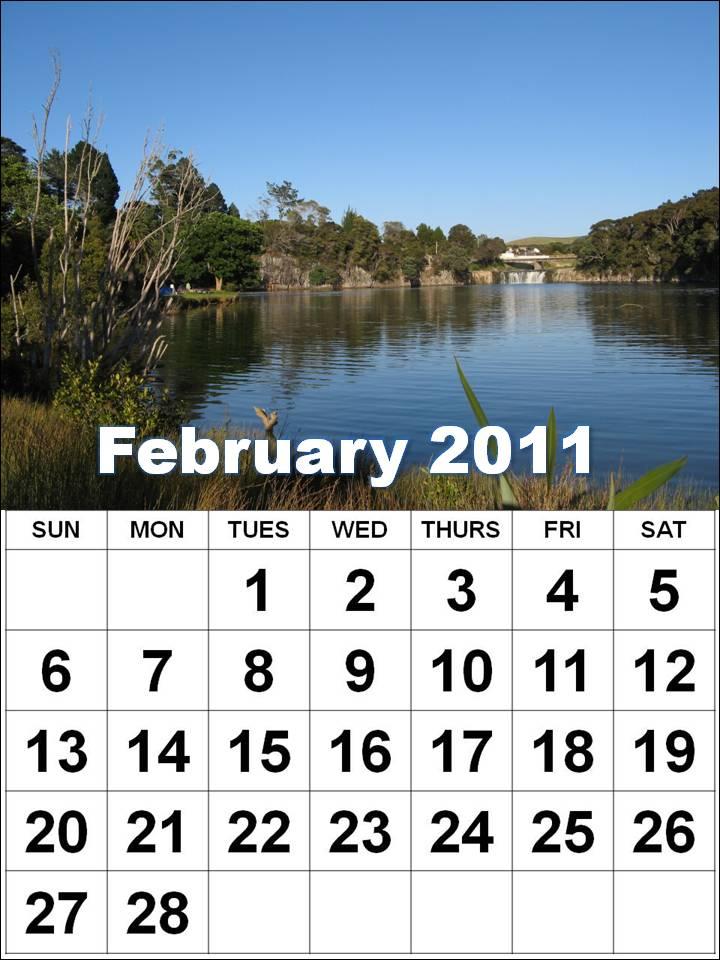 2011 calendar february. Free Printable February 2011