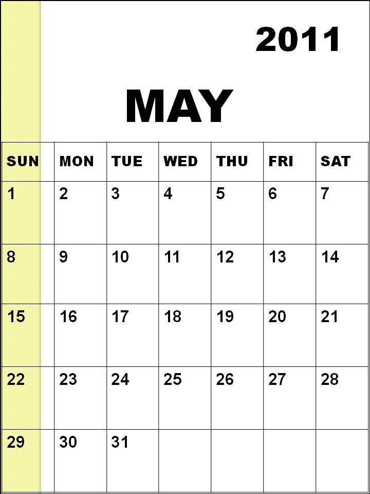 2011 annual calendar printable. printable annual calendars