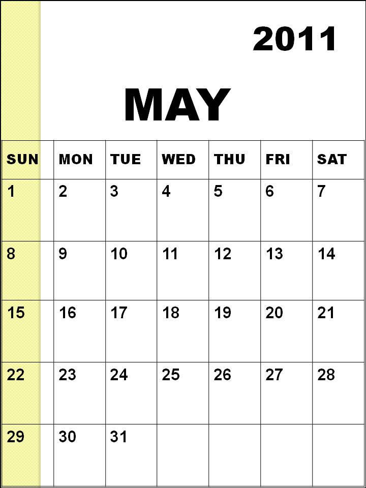 may calendar 2011 images. blank may calendar 2011.