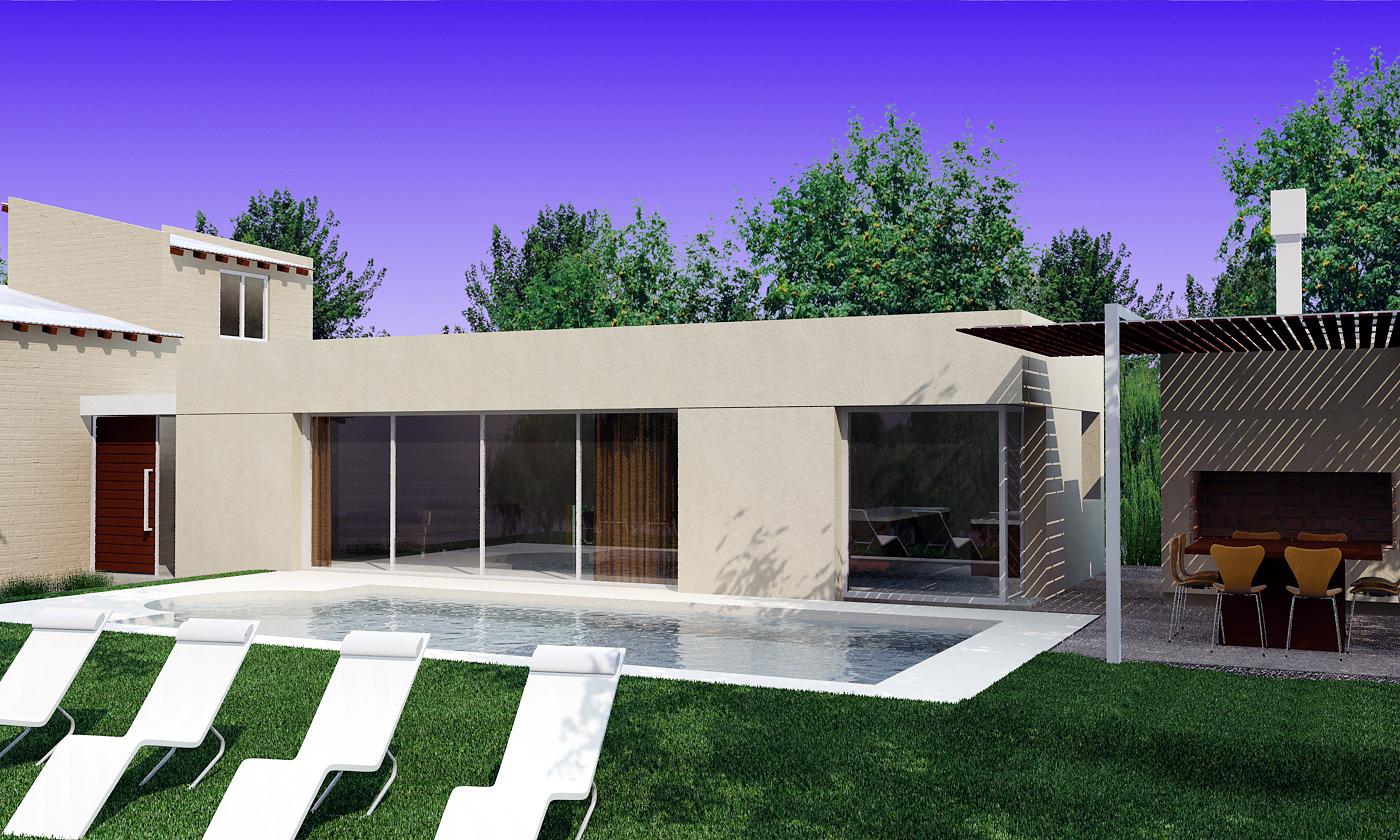 estudio rom arquitectura residencial funes